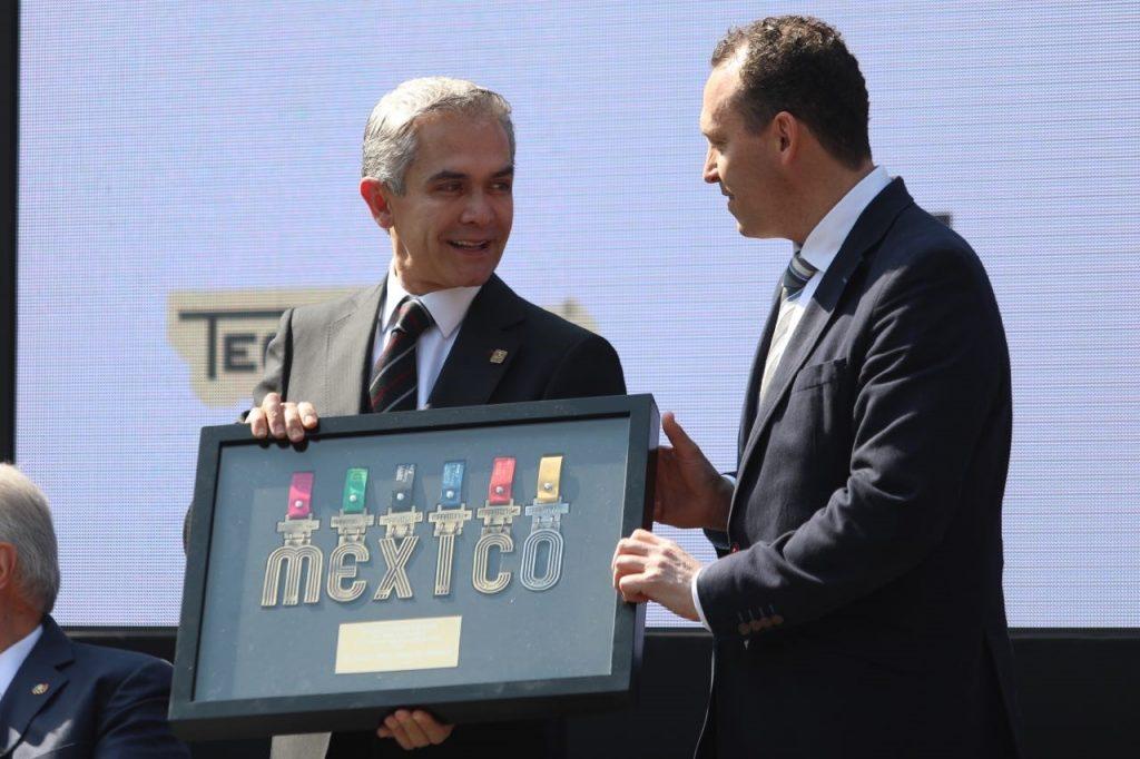 medallas maraton ciudad de mexico coleccion
