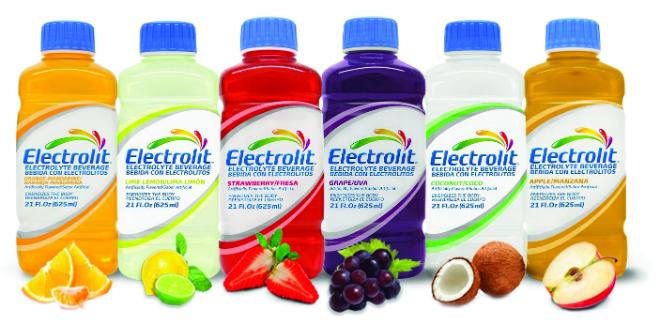 Electrolit bebida rehidratante
