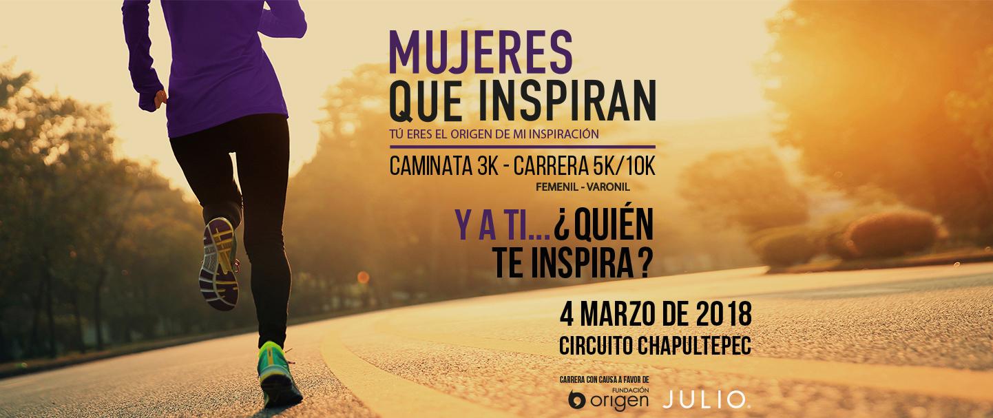 carrera julio mujeres que inspiran