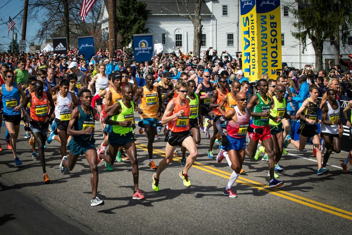 atletas elite maraton boston 2018