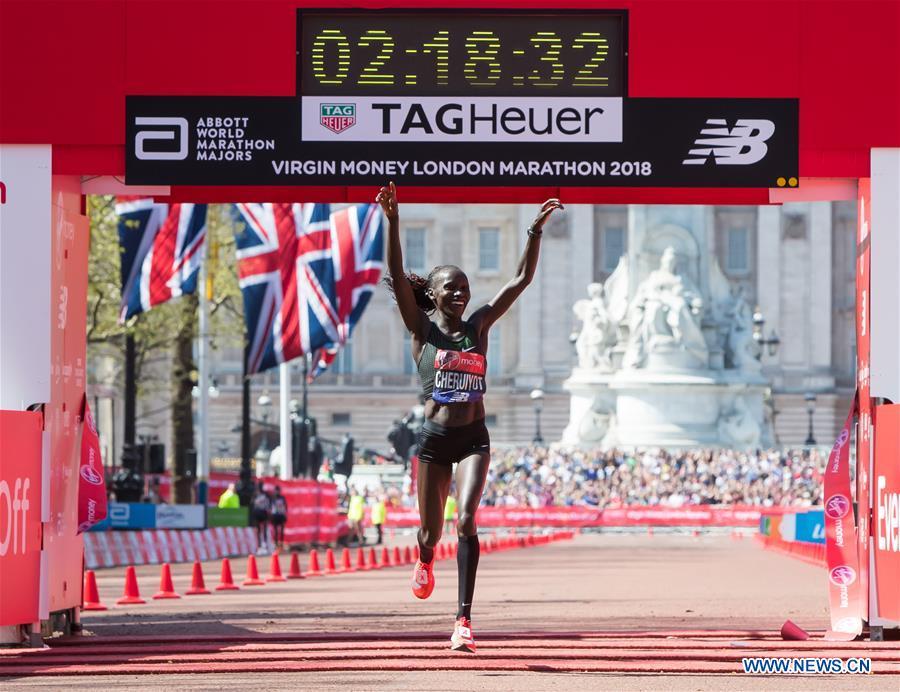 cheruiyot maraton londres 2018