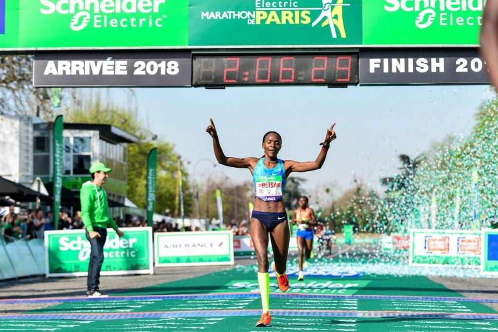 maraton paris 2018 resultados