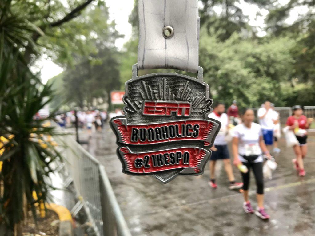 medalla 21k espn 2018