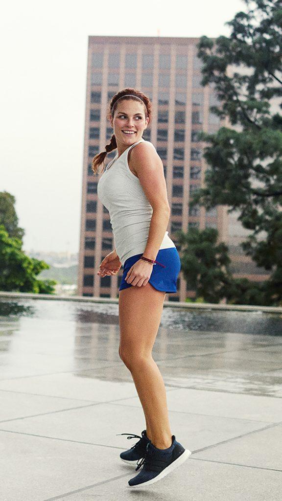 Delia Garcia Capitana adidas runners mexico city