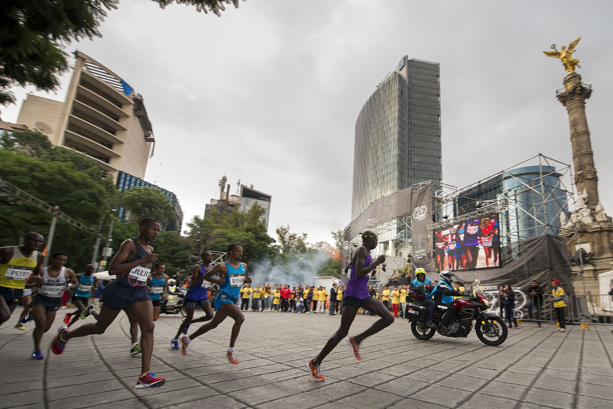 ruta maraton ciudad de mexico
