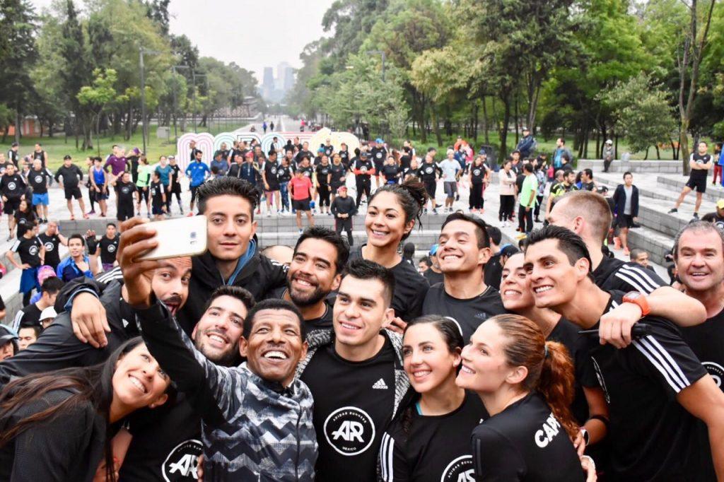 Haile Gebreselassie maraton ciudad de mexico adidas runners