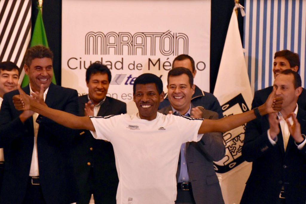 Haile Gebrselassie maraton ciudad de mexico 2018