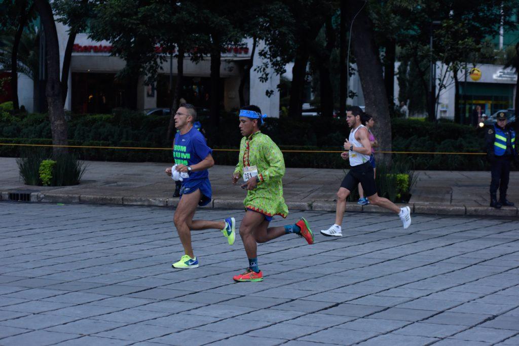 tarahumara raramuri Maraton Ciudad de Mexico CDMX 2018