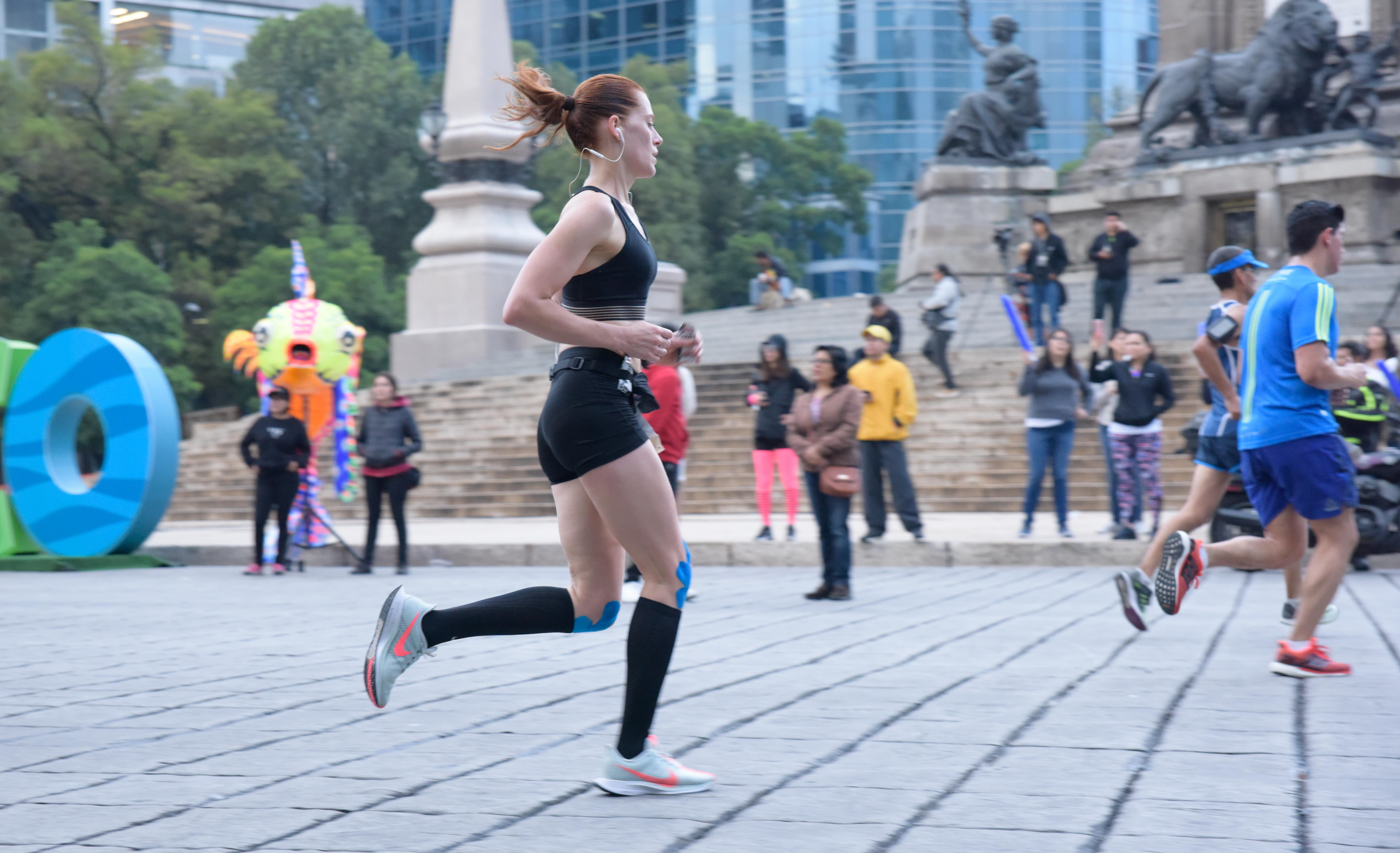 Sofia Berwig Maraton Ciudad de Mexico CDMX 2018