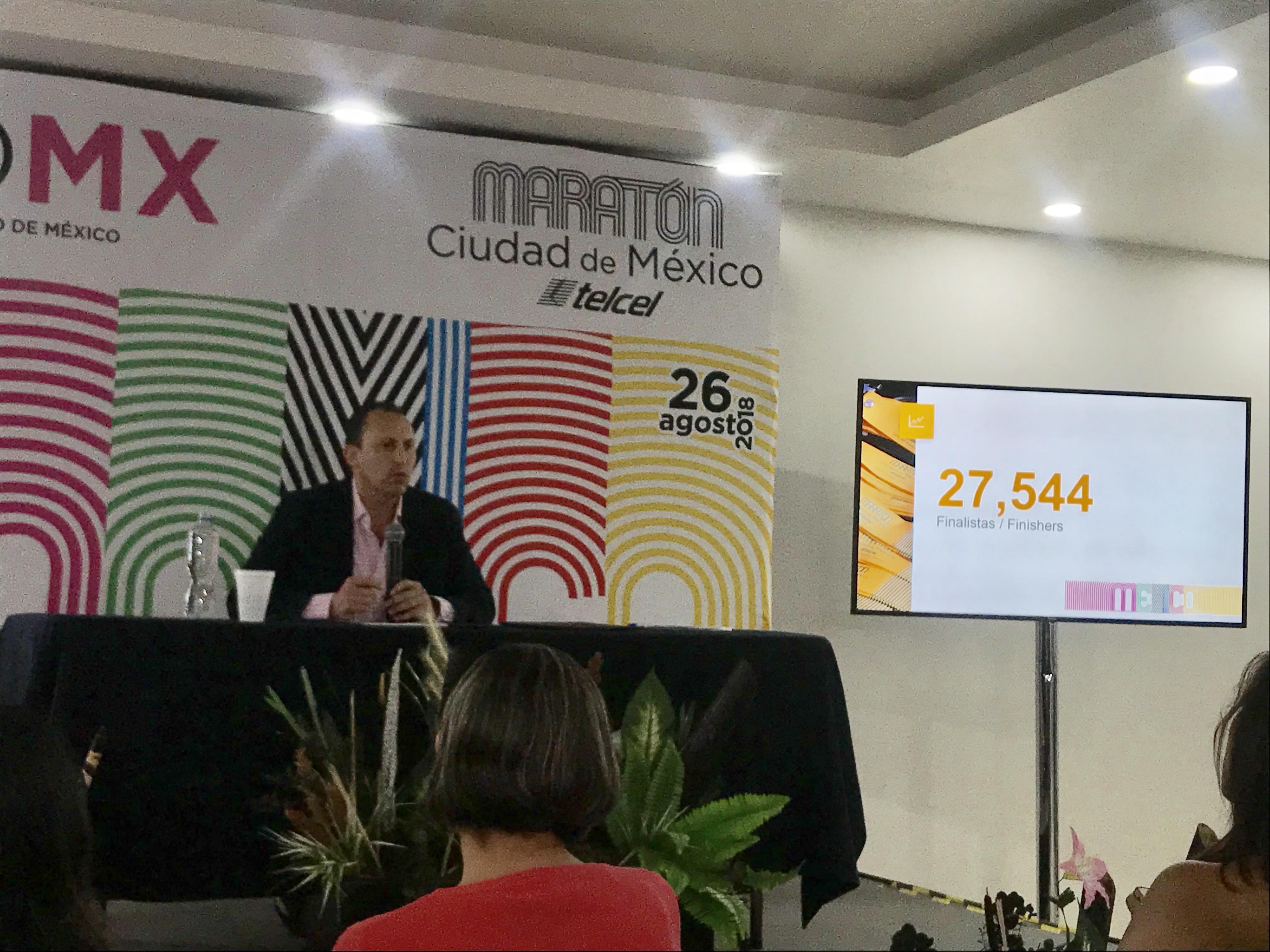 numeros finishers maraton ciudad de mexico 2018 descalificados