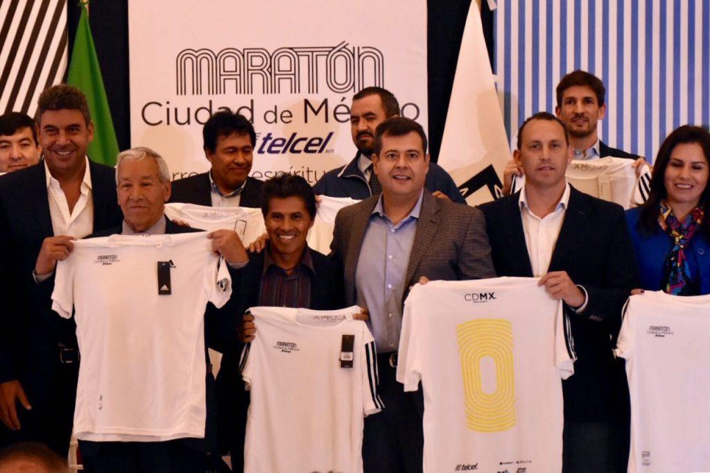 playera maraton ciudad de mexico cdmx 2018