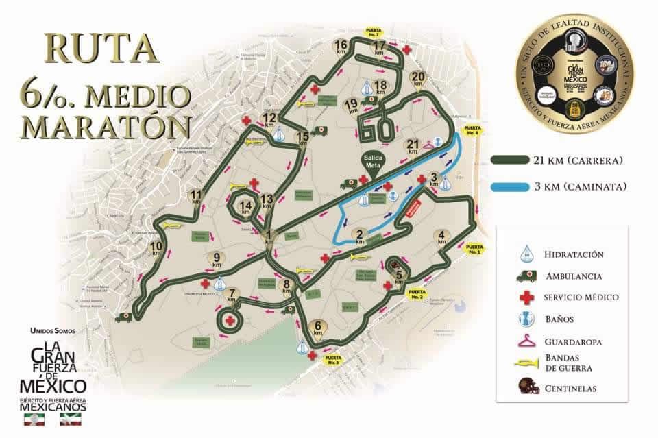 ruta 21k maraton sedena