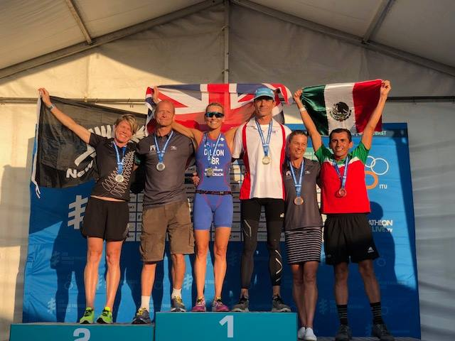 campeonato mundial triatlon australia 2018