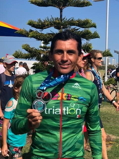 eduardo salas triatleta campeonato mundial triatlon 2018
