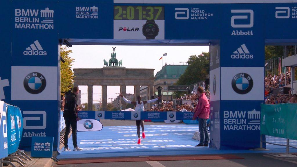 eliud kipchoge record maraton berlin