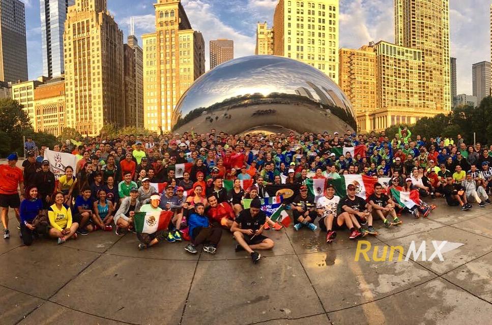 maraton chicago mexican run runmx