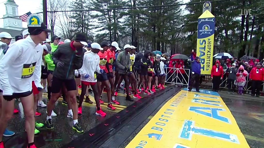 nuevos tiempos calificacion maraton boston