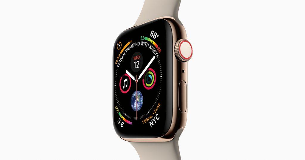 smartwatch apple watch 4 running correr