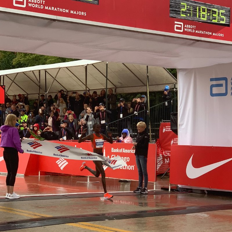 brigid kosgei maraton chicago 2018