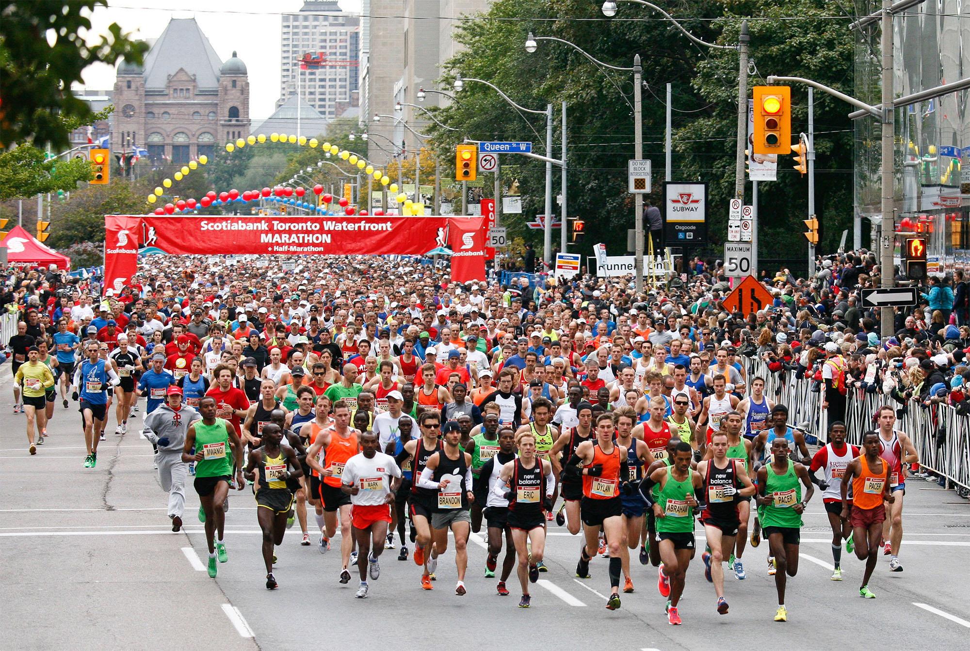 maraton de toronto 2018