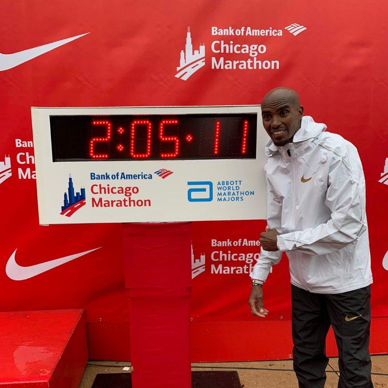 mo farah ganador maraton chicago 2018