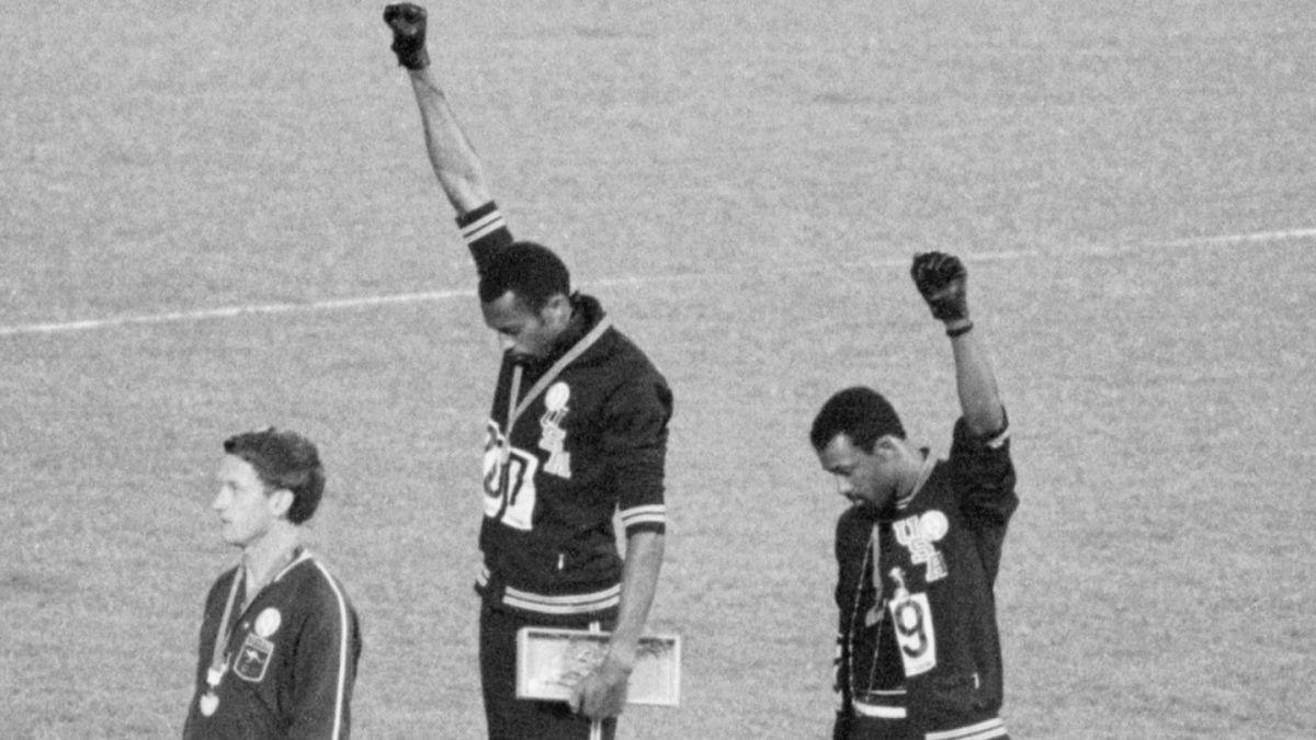 tommie smith juegos olimpicos mexico 68