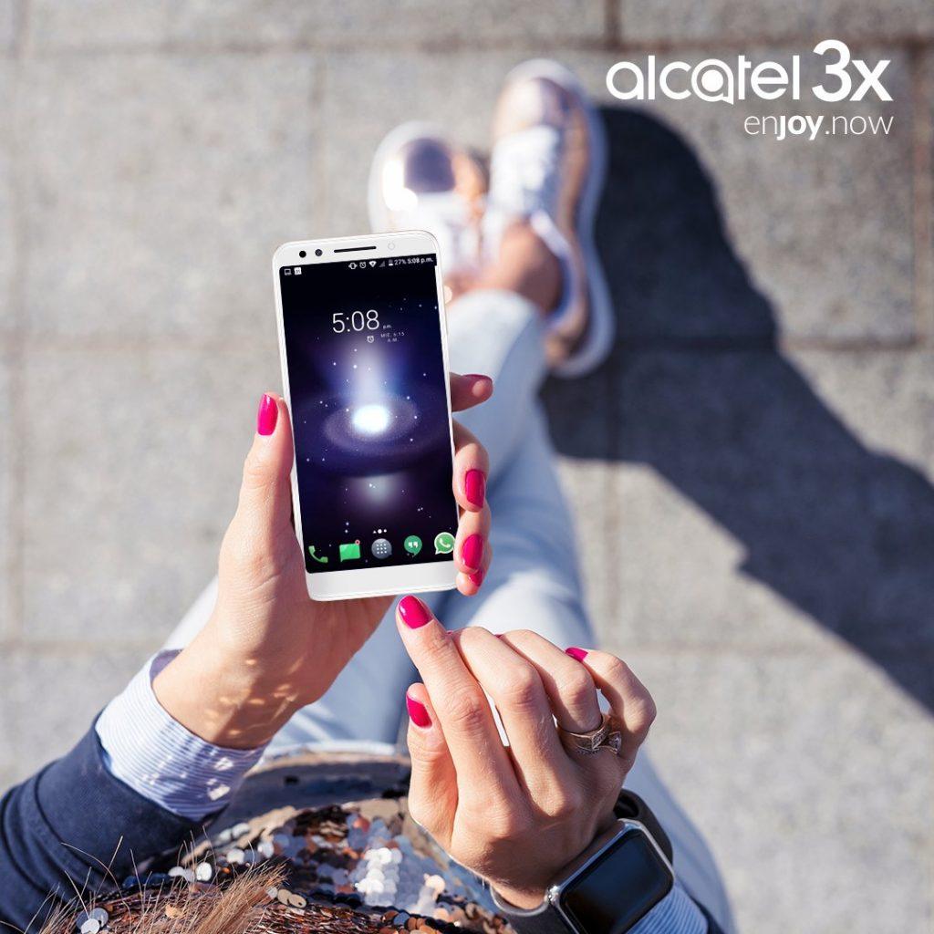 carrera telcel red Alcatel 3X