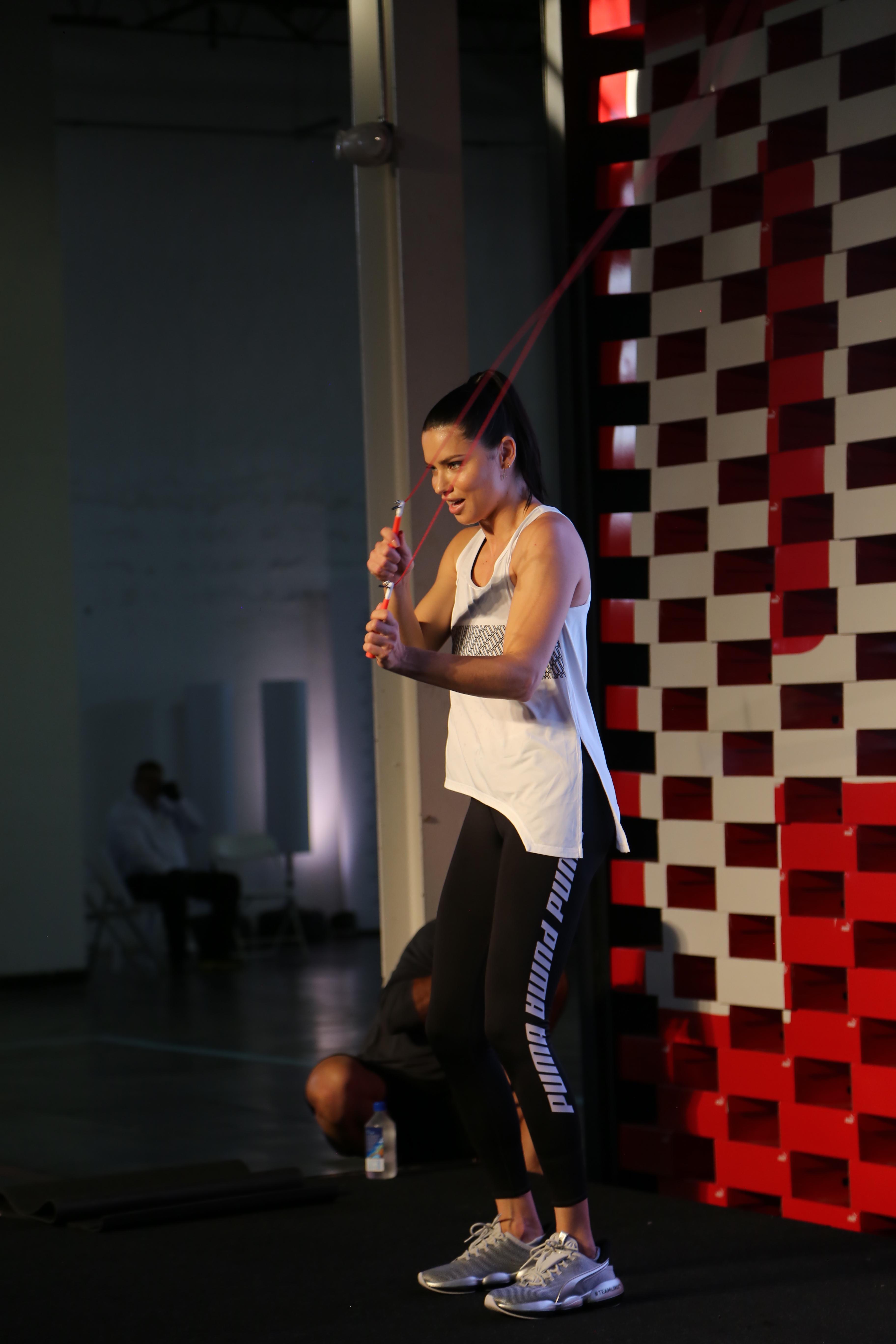 Adriana Lima Puma Team Faster Miami