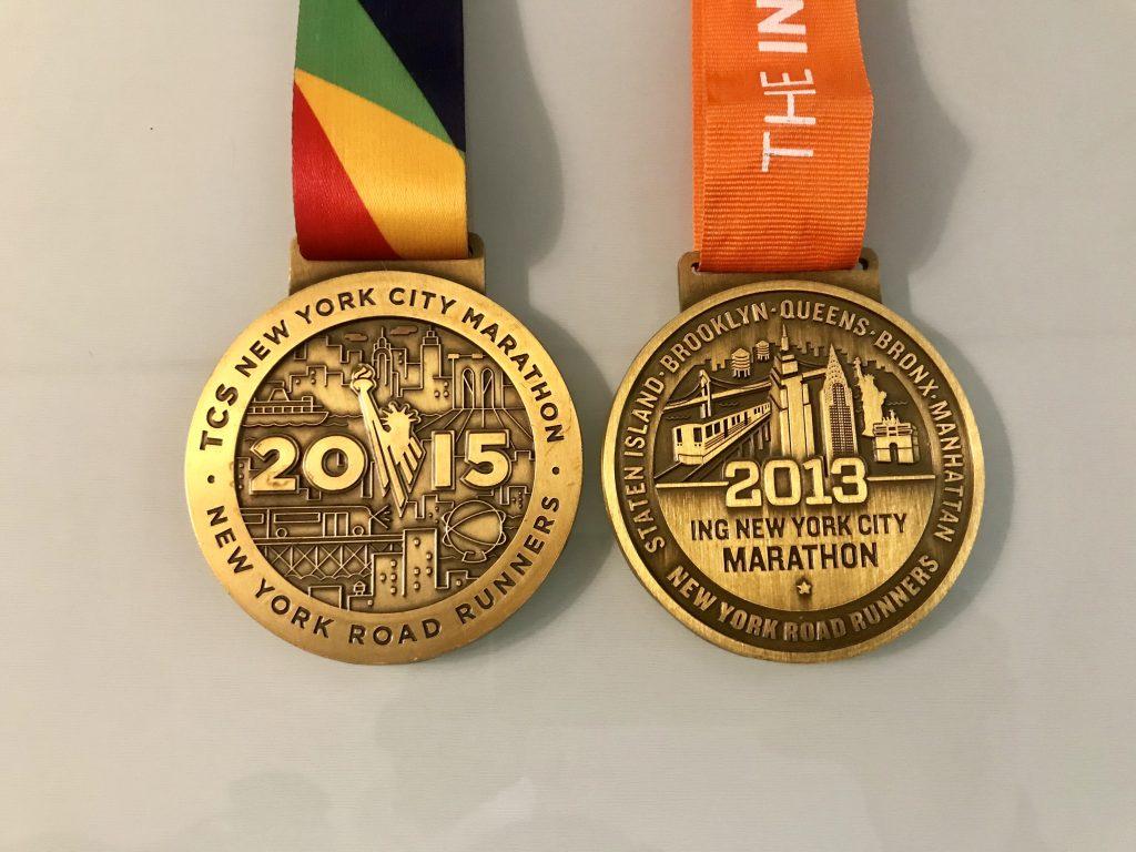 inscripciones maraton de nueva york medalla 2019