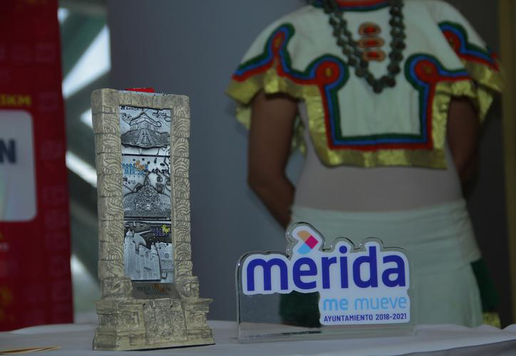 medalla maraton merida 2019