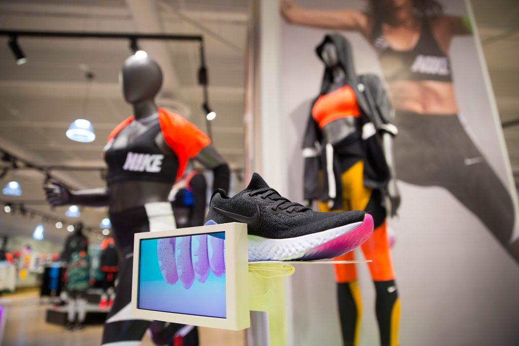 tienda Nike Artz prueba de pisada