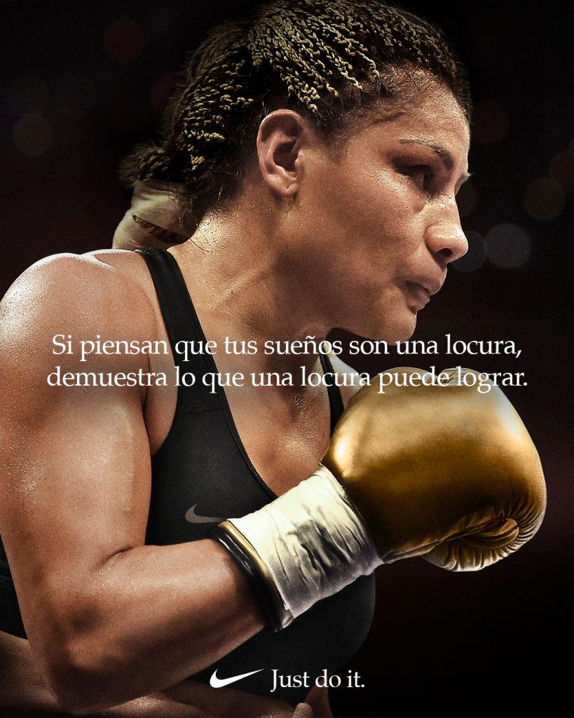Mariana Juarez Nike Dream Crazier