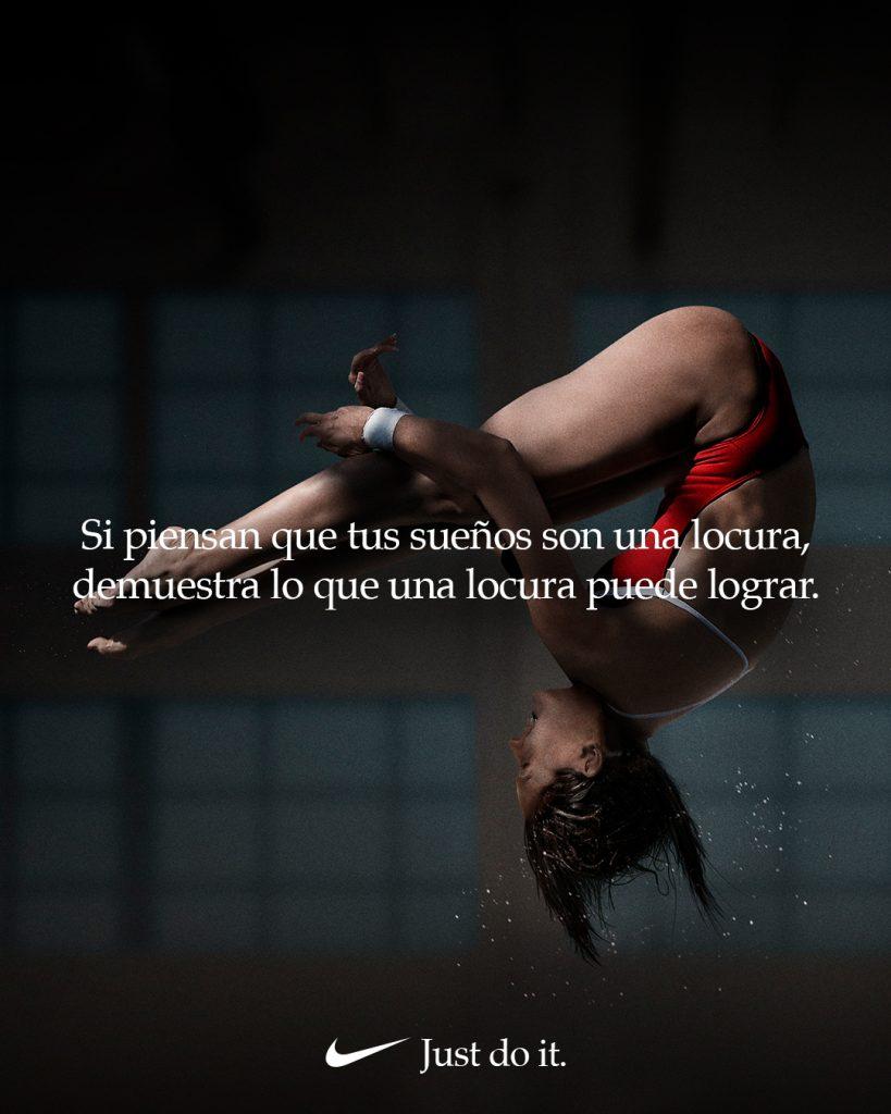 Paola Espinoza Nike Dream Crazier