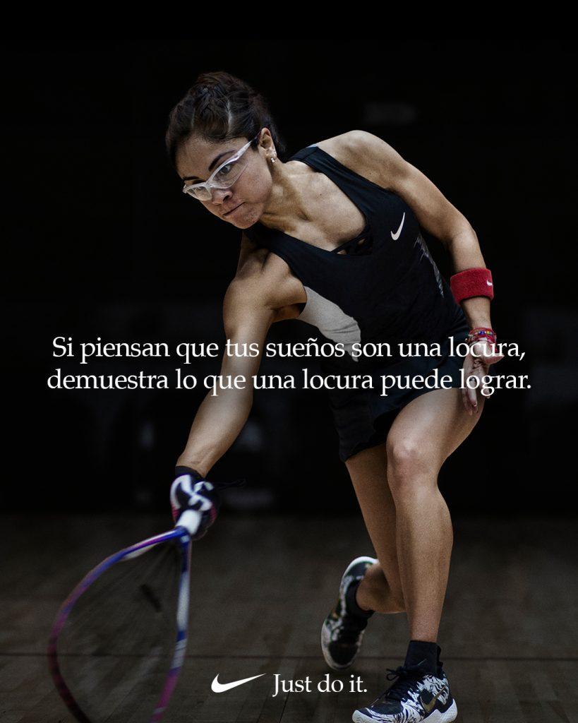 Paola Longoria Nike Dream Crazier