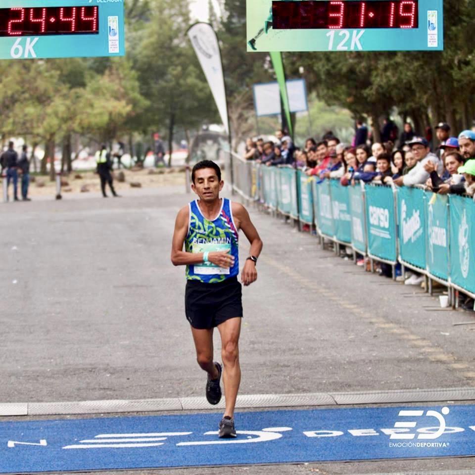 Benjamin Paredes Carrera del Agua 2019