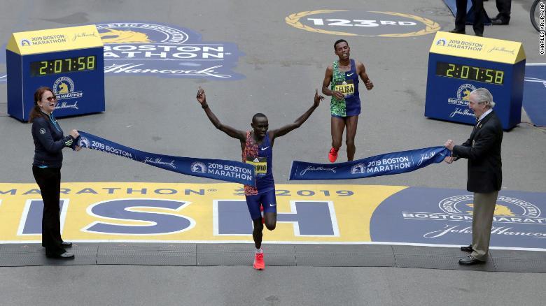 cherono desisa maraton boston 2019 resultados