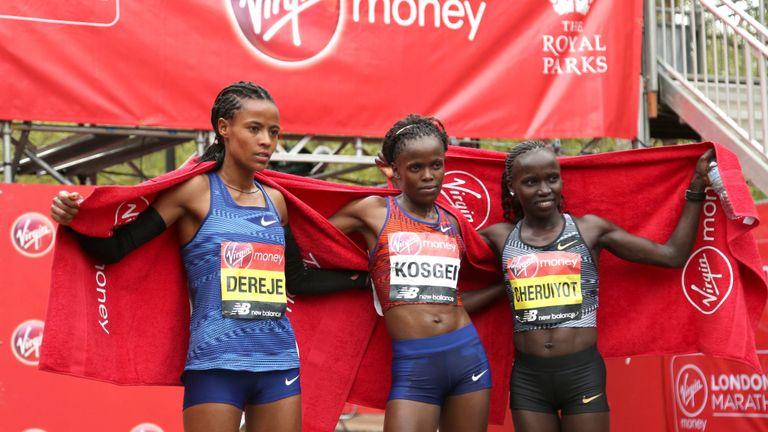 maraton londres mujeres