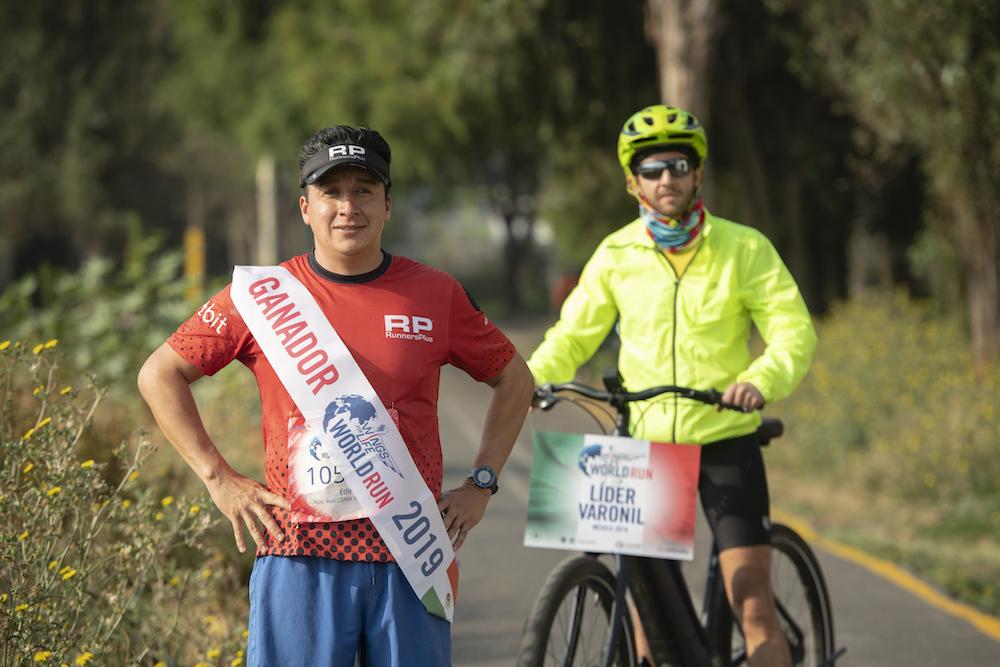 Eder Zulaica Wings for Life World Run