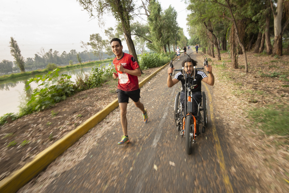 Arly Velazquez Wings for life World Run