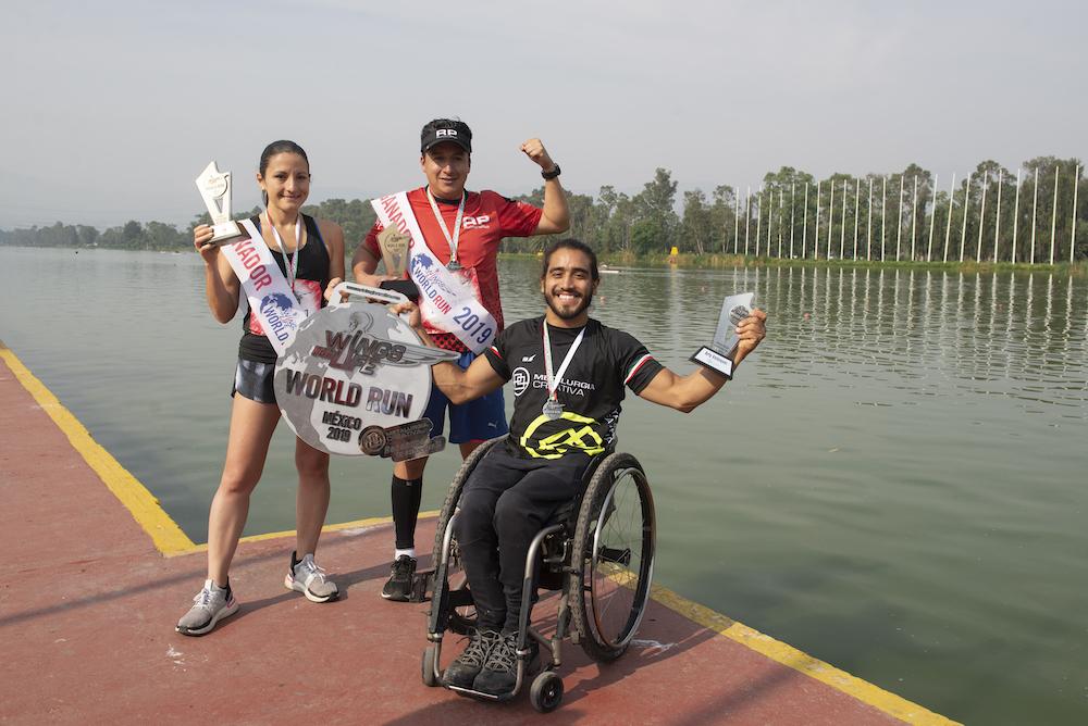 Araiz Arriola, Eder Zulaica y Arly Velazquez