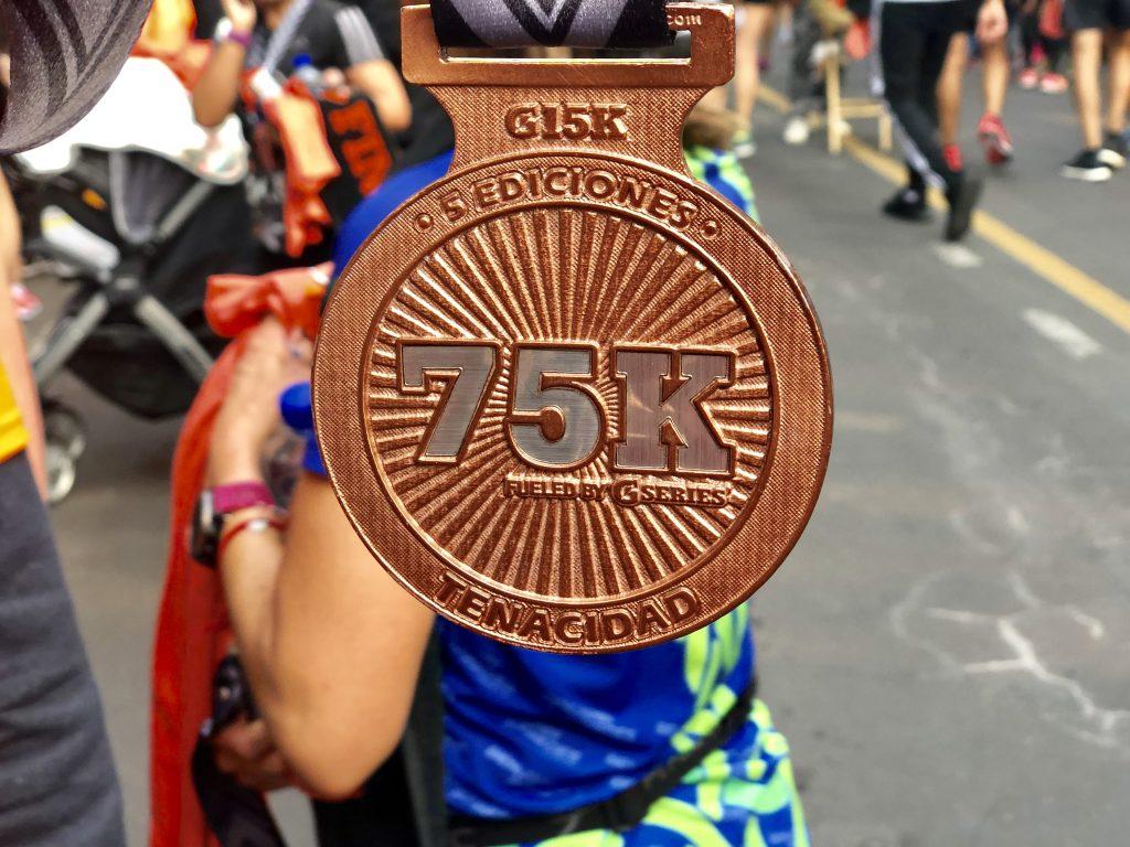 medalla gatorade g15K 75K