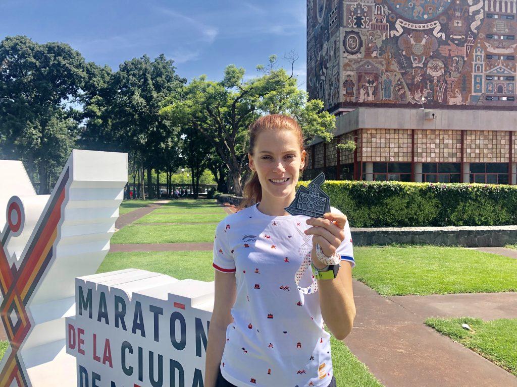 Sofia Berwig Maraton Ciudad de México 2019