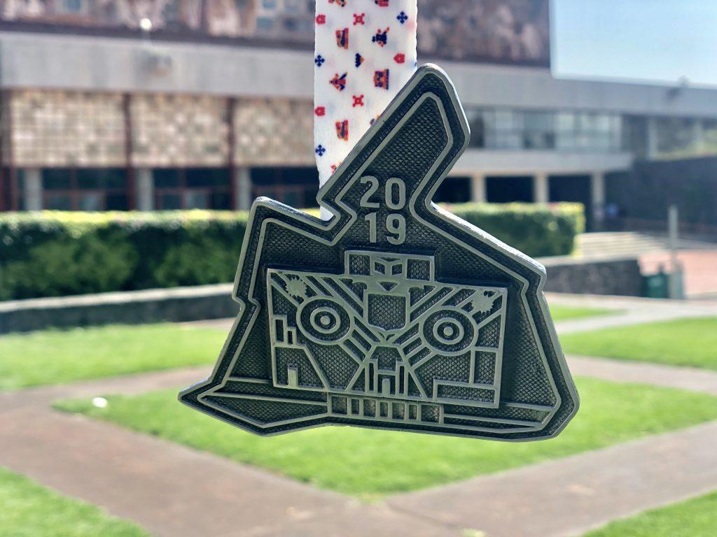 Medalla Maraton Ciudad de México 2019