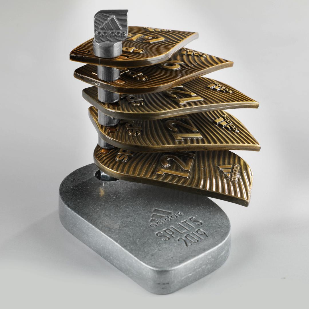 medallero splits adidas 2019