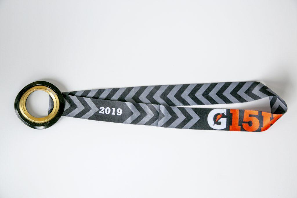 medalla gatorade g15K 2019