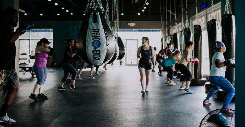 box fitness gym sports world