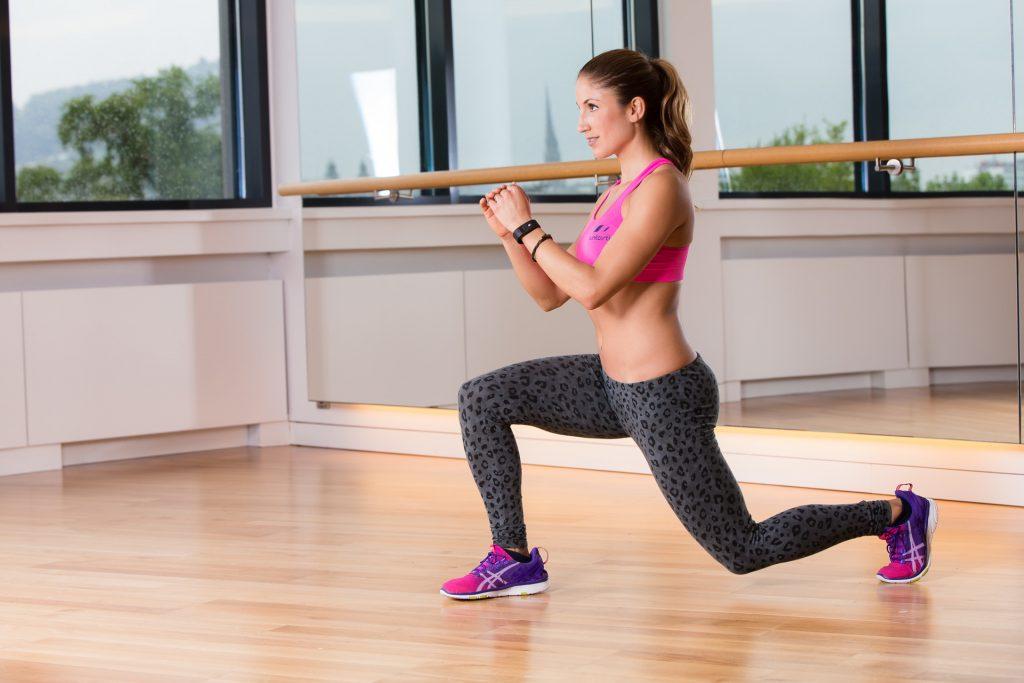 desplante ejercicios peso libre