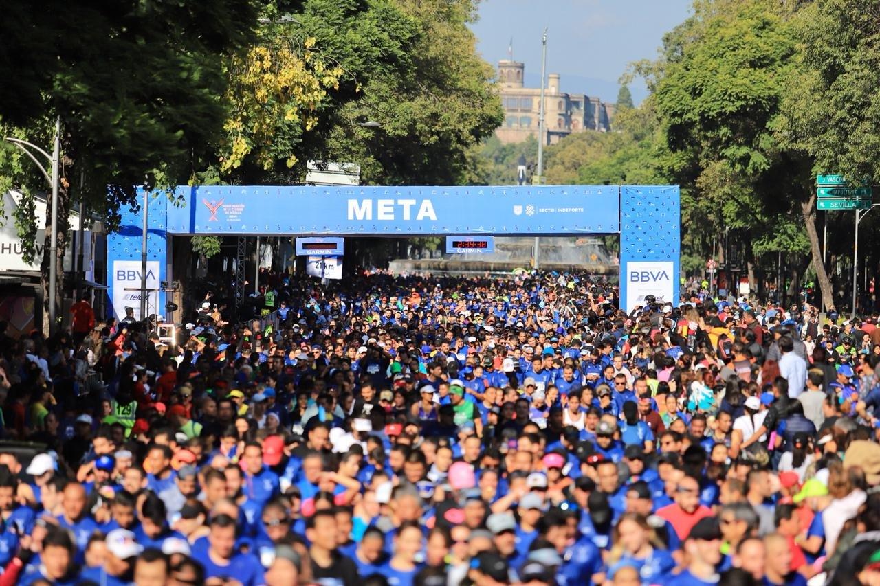 resultados medio maraton ciudad de mexico 2019