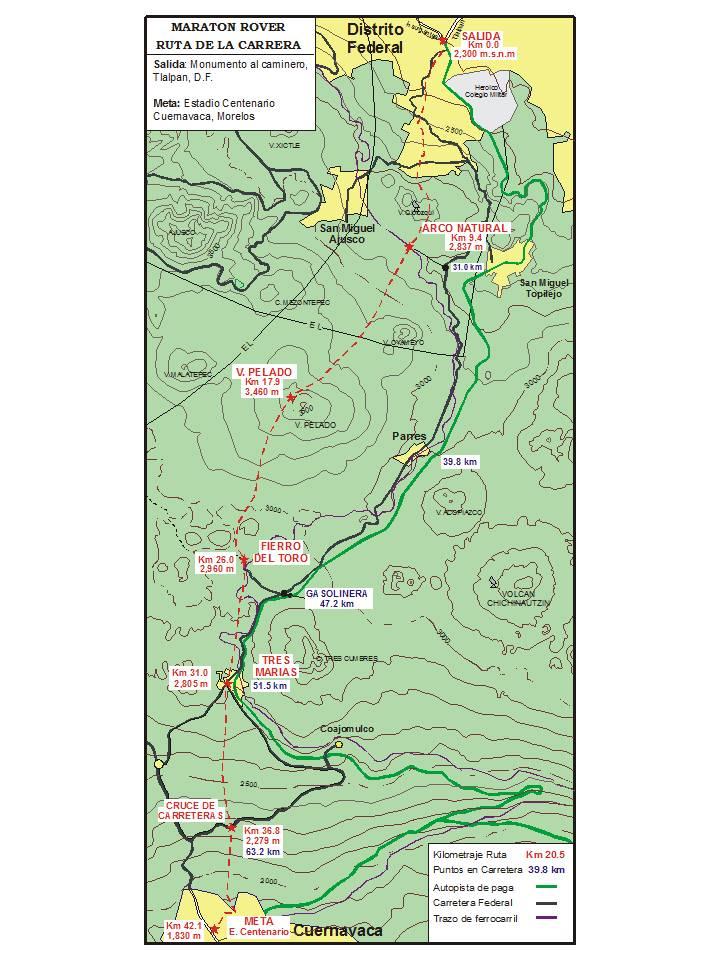 ruta maraton rover