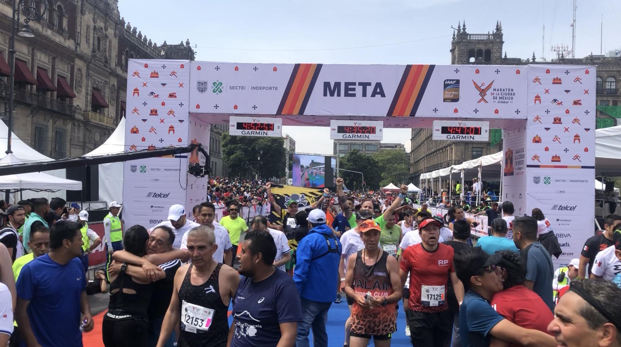 recuperacion maraton cdmx 2019
